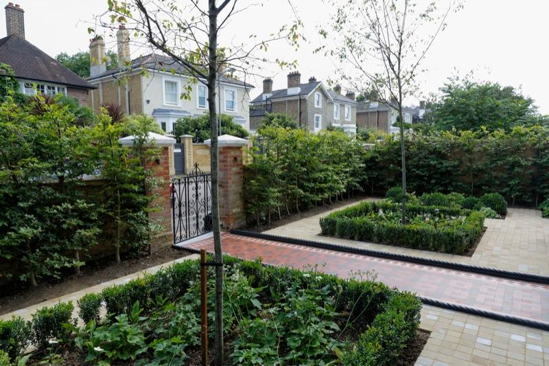 欧式别墅花园设计