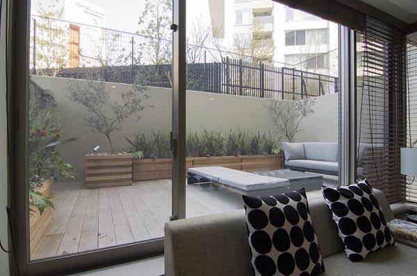下沉花园 - 露台花园 - 北京江润园林设计官网