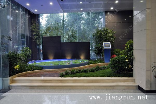 江苏海事局大堂景观 - 室内花园 - 北京江润园林设计